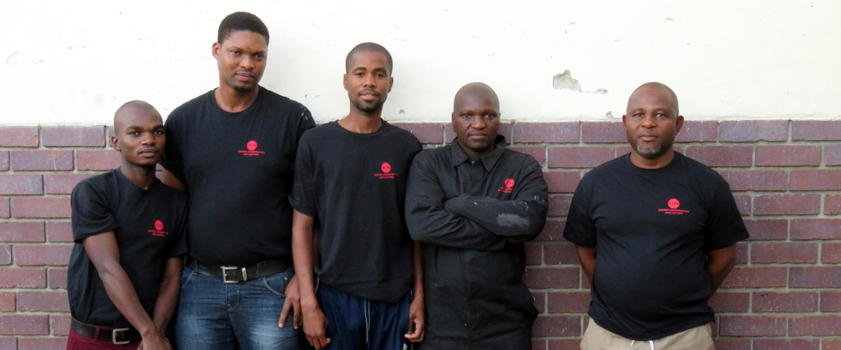Eric, Sanwabile, Johannes, Thulani, Jongi